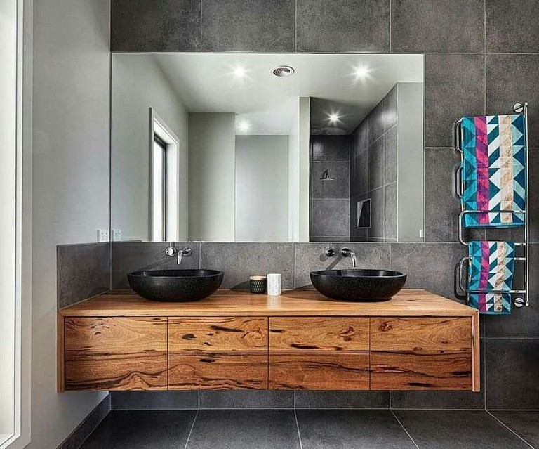 Small Wooden Vanity Ideas Modern Bathroom