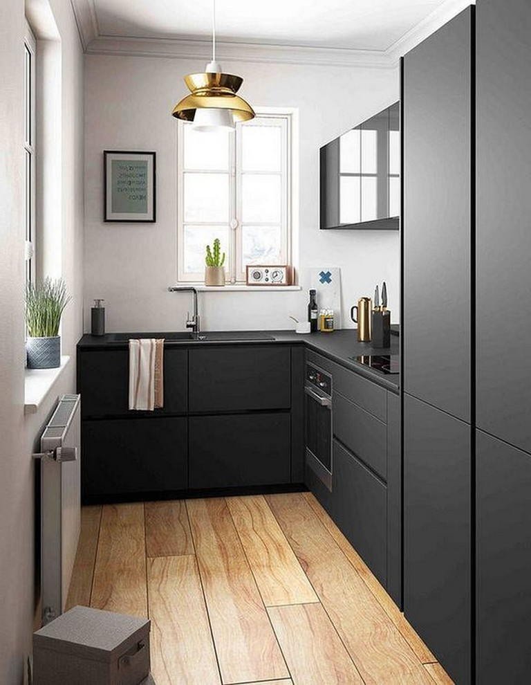 28+ Awesome Simple Small Kitchen Design Ideas Apartment