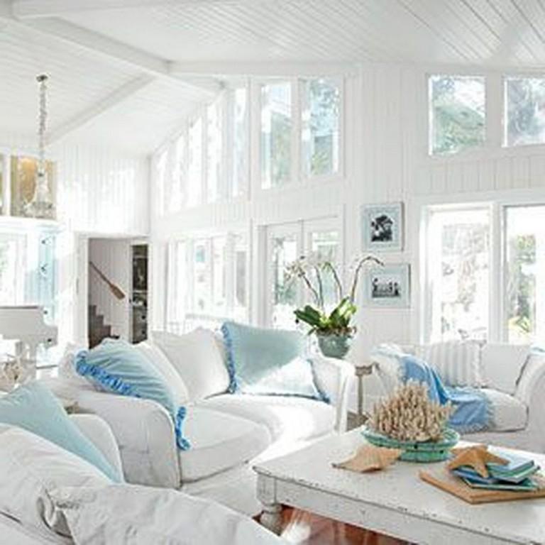 Stunning Coastal Living Room Decor Ideas