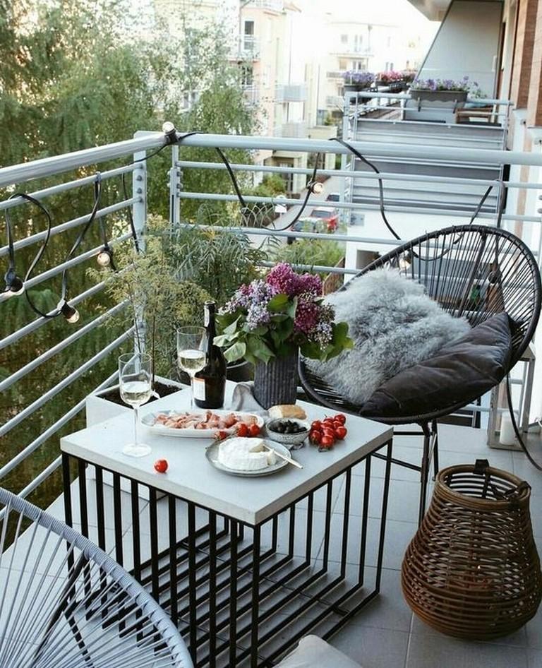 Apartment Balcony: 50+ Stunning Apartment Balcony Design Ideas